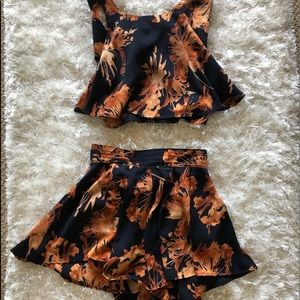 Tropical Two Piece Set
